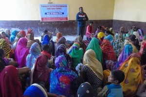 training on nutrition drive among family members of child labour
