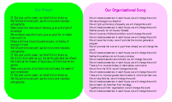 organisation prayer